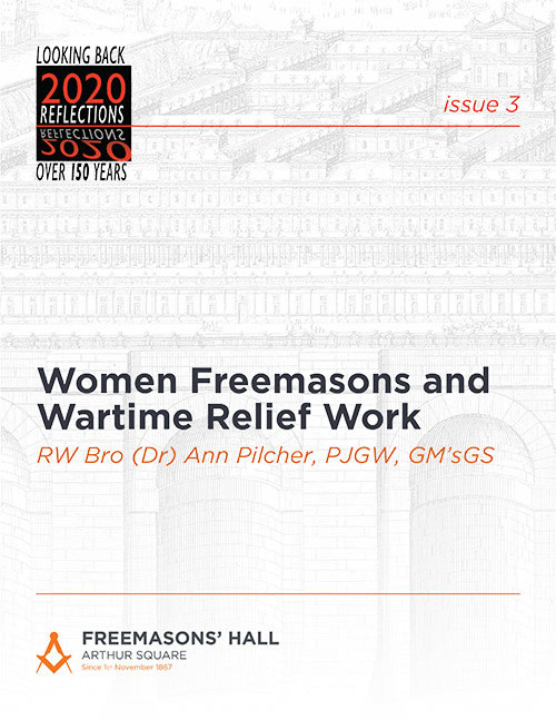 Women Freemasons and Wartime Relief Work