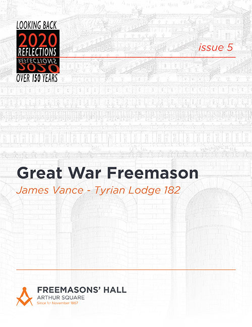 Great War Freemason - James Vance