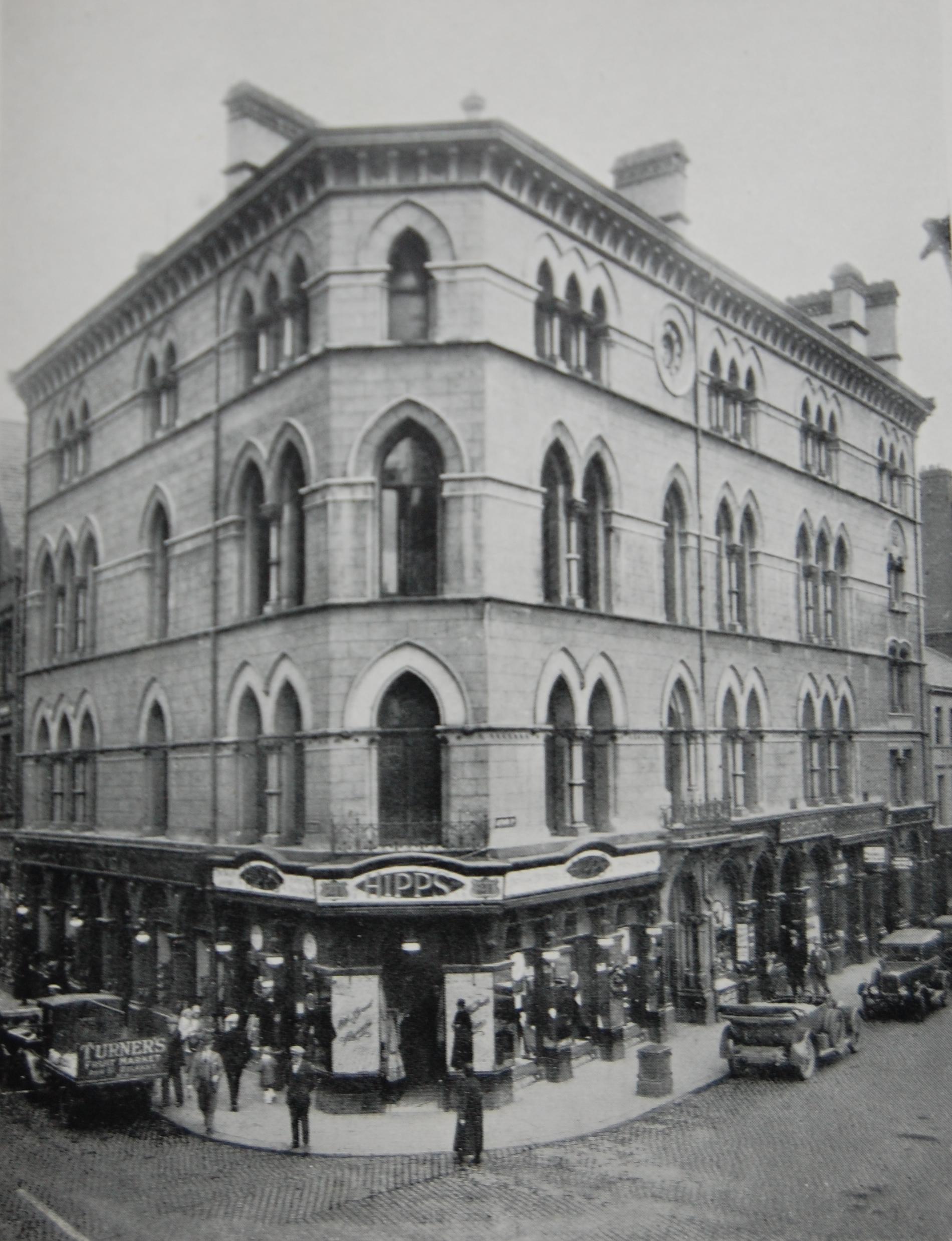 Freemasons' Hall, Arthur Square - circa 1925