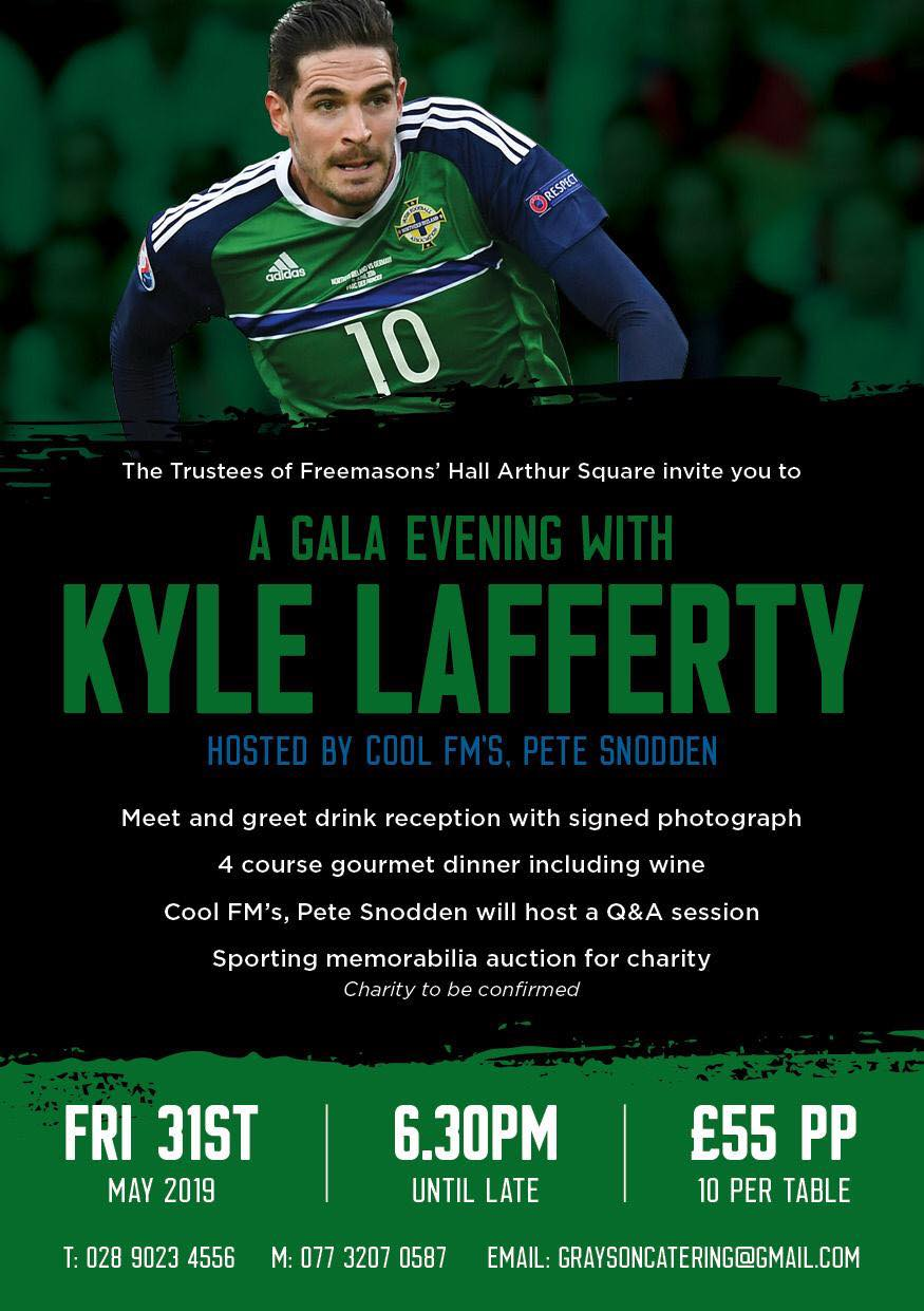 A Gala Evening with Kyle Lafferty